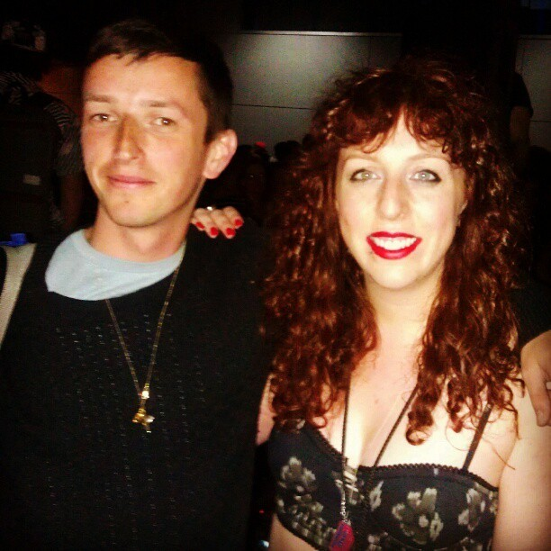 Just met the lovely Orlando Higginbottom!! @teedinosaurs #sxsw #TEED #inlove #dance  #mylifeinsound #dreamman