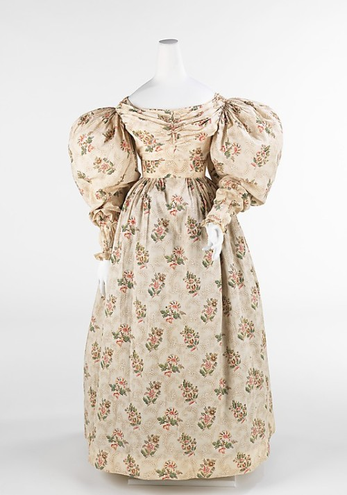 omgthatdress:  Dress 1832-1835 The Metropolitan Museum of Art