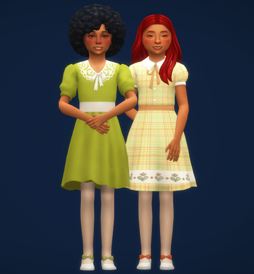 gracisims:shirley rose and margaret pearl #using my cc  #they look so precious🥺