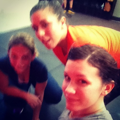 @ellyestadella @babybarbz24 another intense work out! #bringit #bootcamp #workout #sweat #pumped #dying #successful  (at BringItBootcamp)