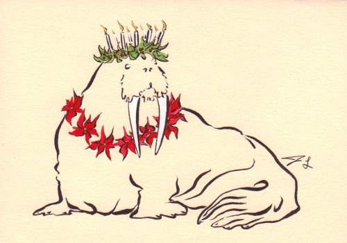 Merry Christmas Walrus to one and all!
