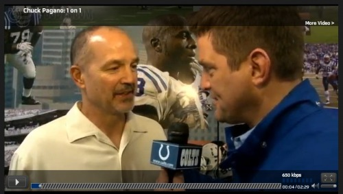 Colts.com talks to Chuck Pagano about his emotional return