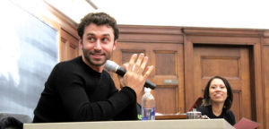 thenerdbabe:  (via Adult film star James Deen promotes sexual health in speech at UW-Madison : Daily-cardinal)Love when porn stars go out into the community