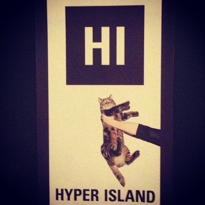 I work here? Yes, I work here. #hyperisland (at Hyper Island)