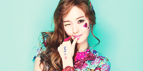 JESSICA  Birth Name: Jessica Jung SooyeonKorean Name: Jung Sooyeon DOB: April 18, 1989Blood Type: B   EXTRA FACTS! Jessica hates cucumbers. Jessica cries when she is angry. Her sister is Krystal from girl group F(x) Jessica has the longest training years. When she is scared, she starts to make dolphin sounds and kicks anything at sight. Jessica was once reported missing. Turns out that she was in a bathroom, sleeping. Her right eye twitches whenever she laughs so hard. Jessica is once the most hated trainee ever. Why? She is said to date most of her oppa's in DBSK and Super Junior. Key from SHINee is scared of Jessica Jessica cares about YuRi so much because she looks like Krystal and sadly, she didn't pay attention to Krystal before. but now, their relationship is jjang. Jessica even promised that she would buy 5 copies of Nu ABO album.