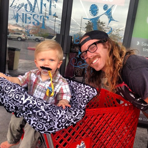 Mustaches are en vogue for all ages.  All ages a mustache.  @kidshreddi #mustache #escapefromnewyork
