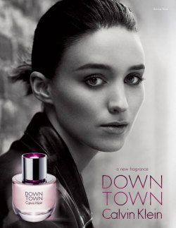 pursuitist:  Rooney Mara is the face of Calvin Klein's new fragrance  Actress Rooney Mara is the new face of Calvin Klein's upcoming summer fragrance Downtown. This is…  View Post