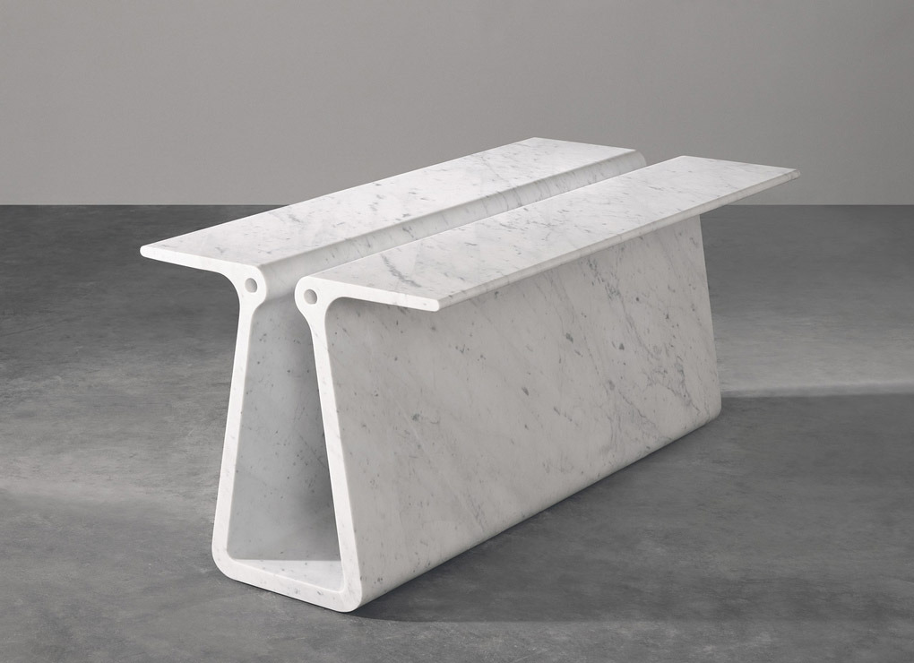 designbinge:  Maec Newson Extruded table