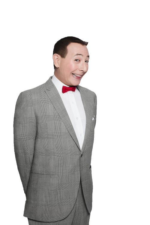 transparent Pee Wee Herman