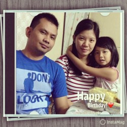 Happy birthday May! God bless you! 😘❤ #InstaMag (at Renn & Hannah's place)