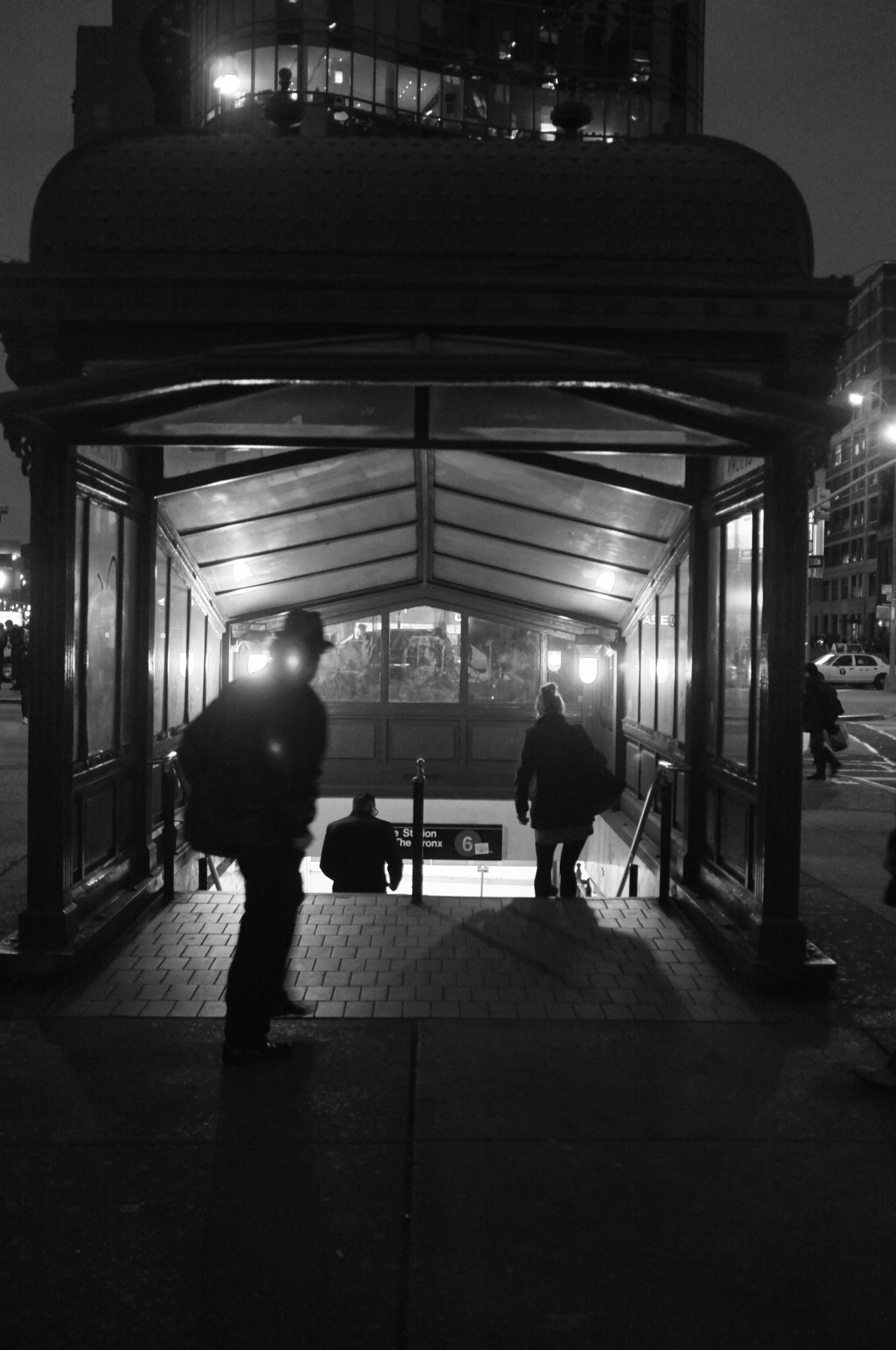 """there's nothing left to be concealed"" astor place, nyc. (Fuji X100)"