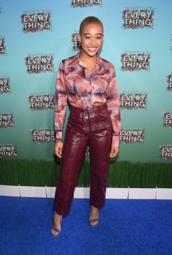 celebsofcolor:  Amandla Stenberg attends 'Everything, Everything' Screening and Brunch at W Hotel Atlanta Midtown on April 23, 2017 in Atlanta, Georgia.