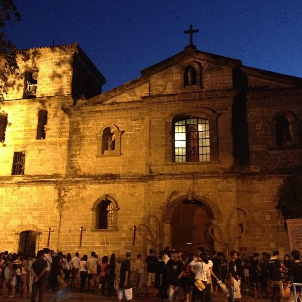 First Church. ⛪ #BisitaIglesia (at Bamboo Organ Church | Las Pinas)