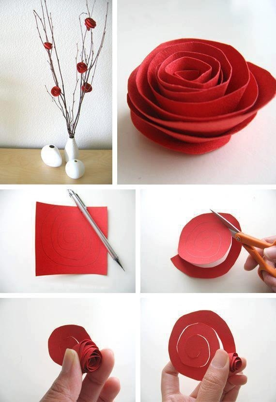 DIY Flower!  How cute and clever! Very simple to do too