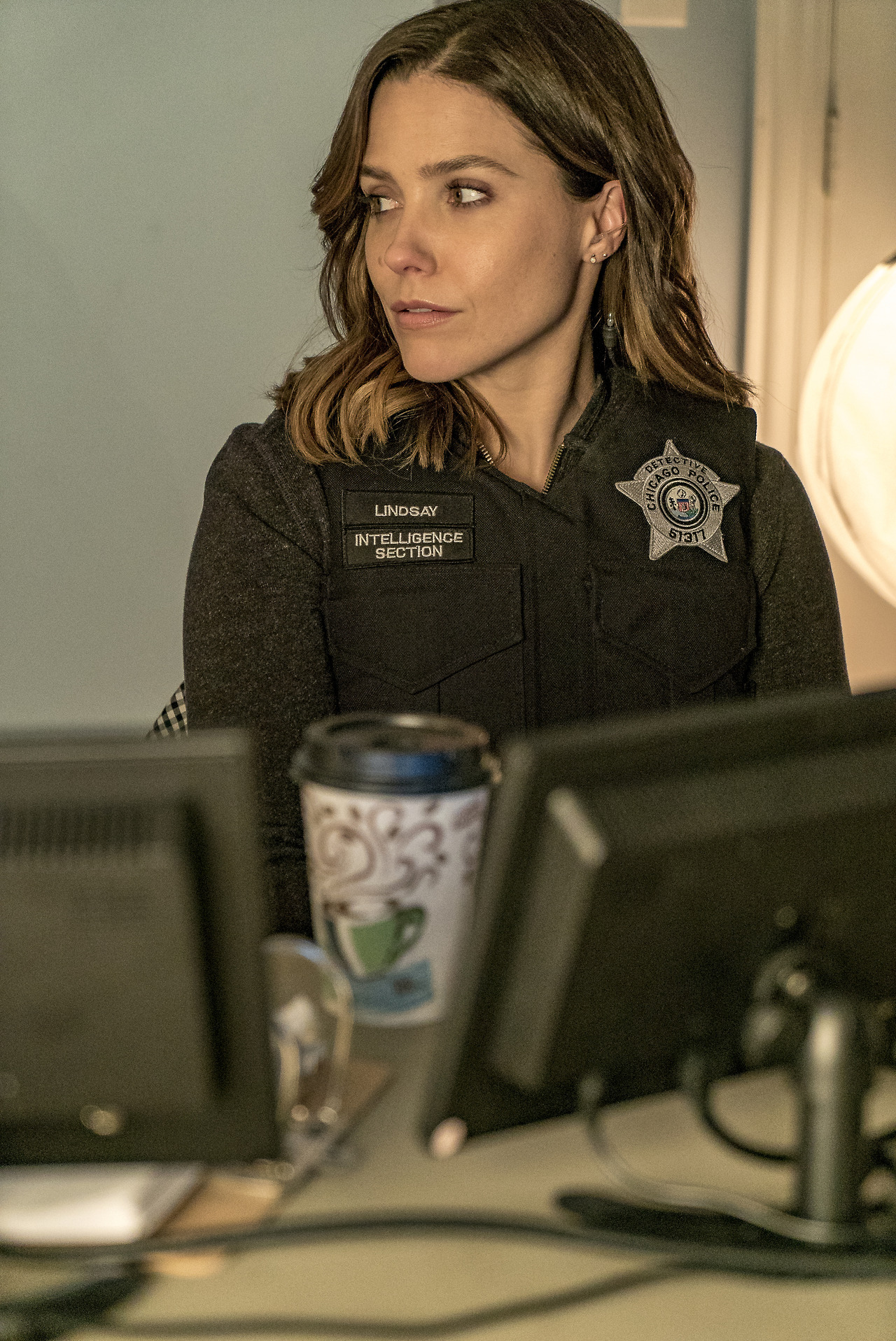 Side profile game is strong on the Chicago P.D. squad tomorrow.