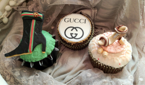 Gucci Advertising Team Holiday Party 2012 Cupcakes