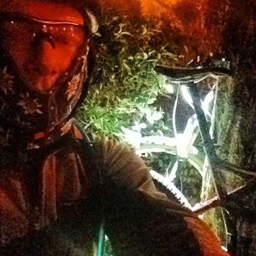 Olor a #nocturna #btt #madrid  (at Somontes)