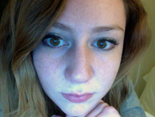 My eyes are pretty green tonight. This is a rare occurrence that needs to be documented.