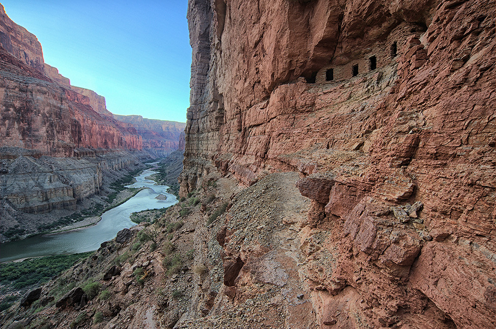 Photo of the Day: Nankoweap Granaries, Grand Canyon National Park Photo by Bob Bush (Altadena, CA); Grand Canyon National Park