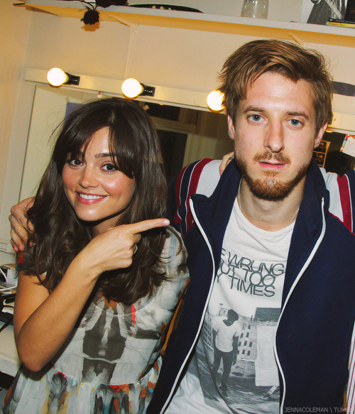 doctorwho:  Jenna and Arthur