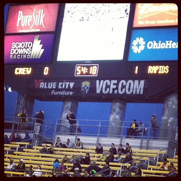Come ON! #columbuscrew #fingersfrozen