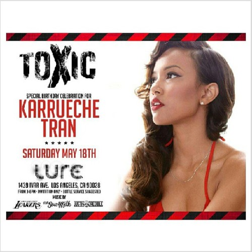 Tomorrow May18th Toxic Day party at LURE is about to be so poppin. See you all there