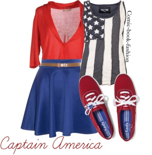 Captain America by comic-book-fashion.