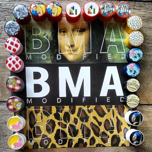 @karlieshanelle went to town with our #plugs.  Rad 👌  #bmamodified #pluglife #plugsporn #plugsofinstagram #gauges   WWW.BMAMODIFIED.COM