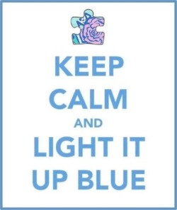 April 2nd is World Autism Awareness Day. Light it up blue!