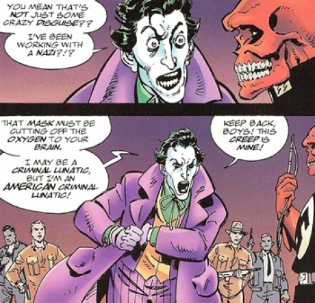 nerdcoreknight:  The Joker:  Proud American.