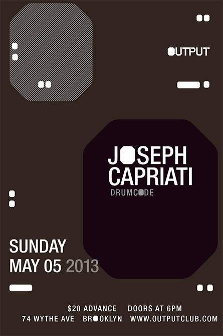 undrgrndsound:  Joseph Capriati at Output on Cinco de Mayo  For more info on upcoming events at Output, Visit outputclub.com By Sami Sheikh Output is the…   View Post