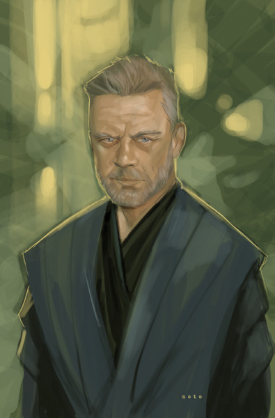 How Luke might appear in Episode VII. philnoto:  Jedi Master Luke Skywalker
