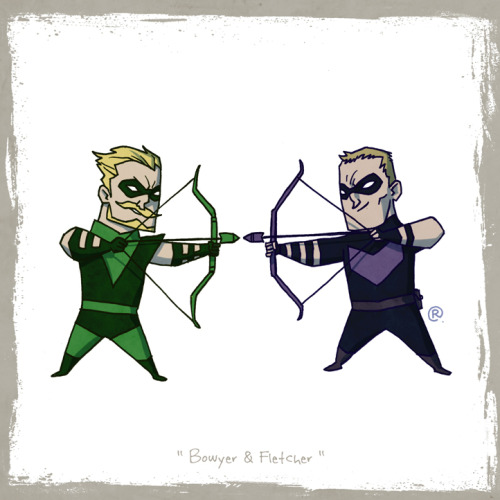 RAWLS: LITTLE FRIENDS - Green Arrow & Hawkeye
