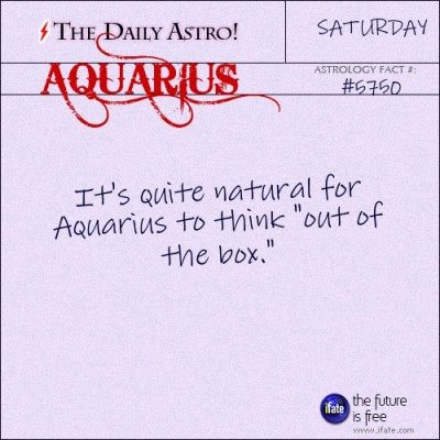 Aquarius 5750: Check out The Daily Astro for facts about Aquarius.
