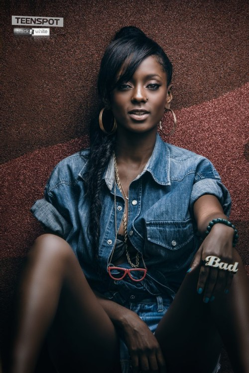 blackandkillingit:  darkskinnedblackbeauty:  Vanessa Mdee  Black Girls Killing It Shop BGKI NOW