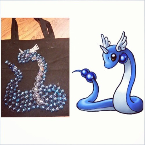 Dragonair bag next to my example!