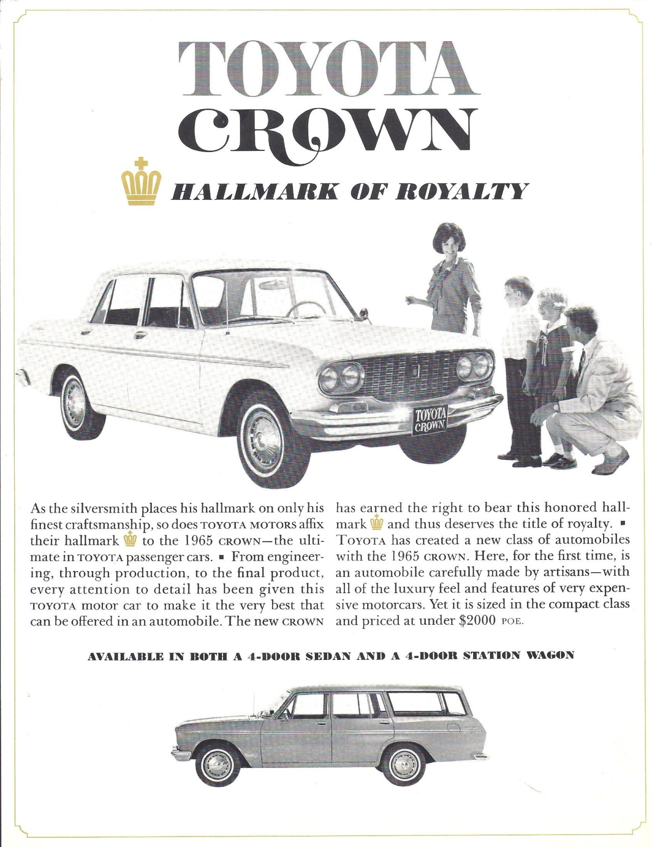 j-p-g:  1965 Toyota Crown for USA (via Hugo90)