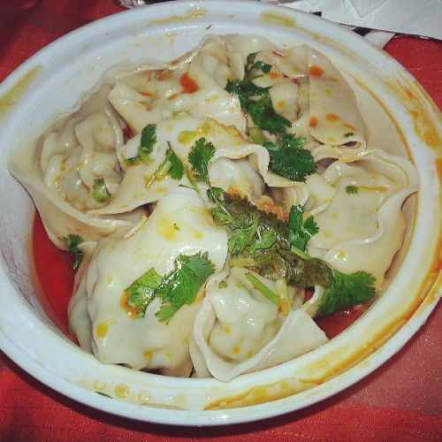 Pork & Veggies Dumplings #Chinatown #NY #NYC #Food