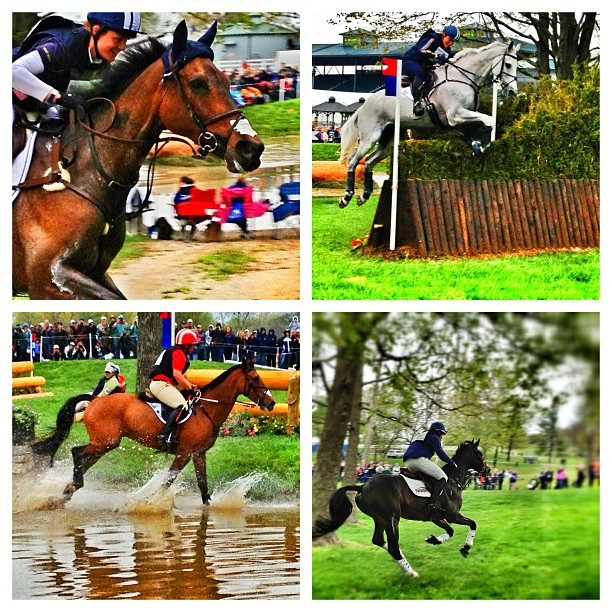 Yesterday at the #rolexky #crosscountry #jumps.