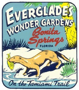 oldflorida:  Everglades Wonder Gardens decal