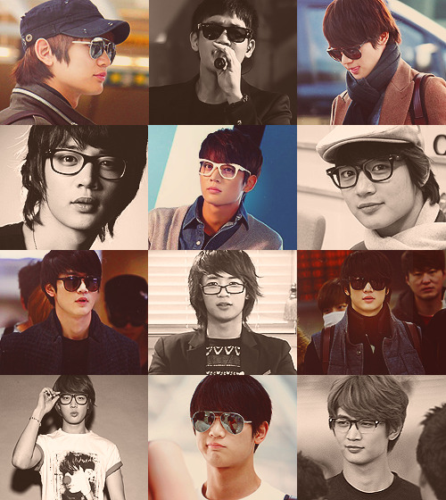 Minho   with glasses  → requested by Mincrazy