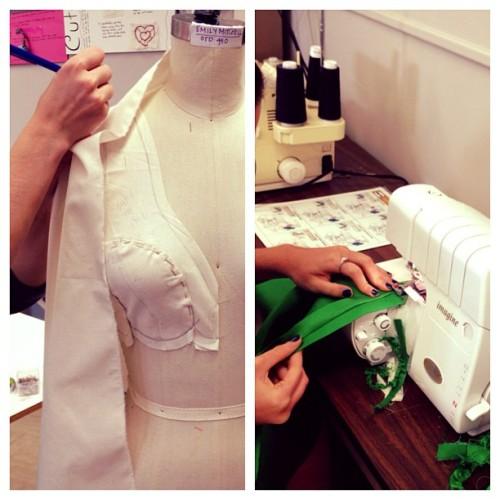 2nd garment due this week   #nov17 #ctdseniorfashion #myheslife