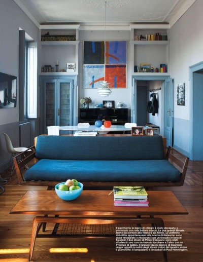 justthedesign:  Living Area Elle Decoration UK June 2012