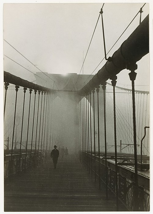 Paul Grotz - Brooklyn Bridge (1929.) / Metropolitan Museum of Art  gelatin silver print