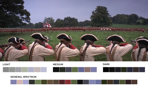 moviesincolor:  Stanley Kubrick WeekBarry Lyndon, 1975Cinematography: John Alcott