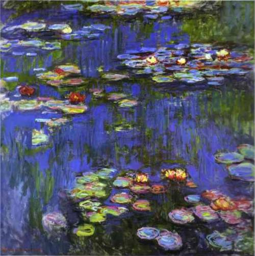 Water Lillies Claude Monet  1914