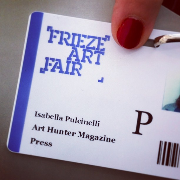 Here we are! #arthuntermag #arthuntermagazine @arthuntermagazine #friezeartfair @friezeartfair #newyork #randallisland (at FRIEZE New York)