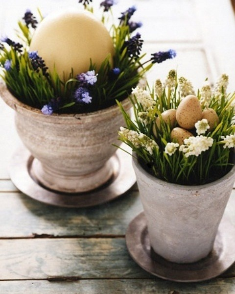 berengia:  Rustic Easter Décor