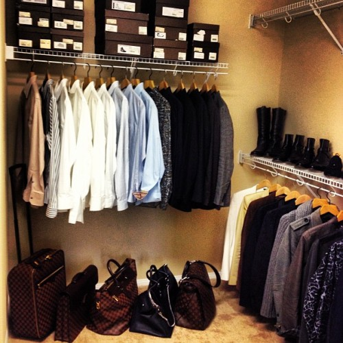 I always said I wanted a #bigcloset in my #home. #dreamscancometrue #louisvuitton #lv #rtw #readytowear #fashion #mensfashion #style #mensstyle #damier #monogram #shoes  (at Peralta Manor Estates)