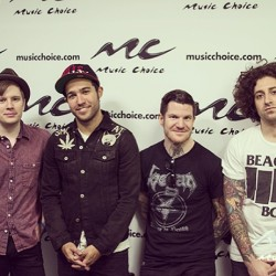 Thanks again to @falloutboy for a fantastic episode of #mcuanda today! #music #falloutboy #instagood